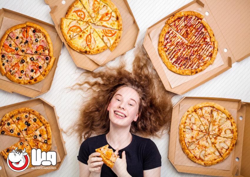 انواع پیتزای ایتالیایی: