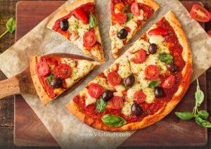 سادهترین پیتزا