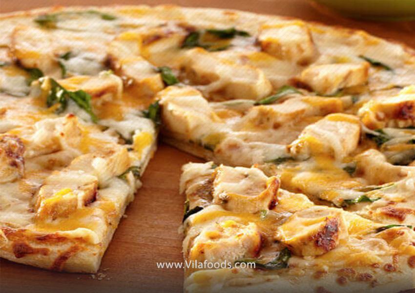 پیتزای مرغ